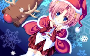 Rating: Safe Score: 58 Tags: 77 christmas kazamai_sakura mikagami_mamizu wallpaper whirlpool User: hirotn