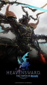 Rating: Safe Score: 9 Tags: armor digital_version final_fantasy final_fantasy_xiv male monster wallpaper weapon User: blooregardo