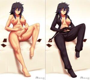 Rating: Explicit Score: 25 Tags: futanari heels naked nipples no_bra open_shirt razalor uncensored User: Anonymous