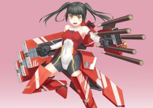 Rating: Safe Score: 18 Tags: anthropomorphization bodysuit eichisu mecha_musume User: Radioactive