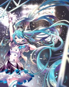 Rating: Safe Score: 22 Tags: akira_(ying) hatsune_miku thighhighs vocaloid User: Mr_GT