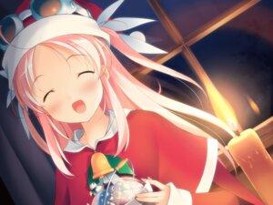 Rating: Safe Score: 12 Tags: christmas fujiwara_warawara game_cg hoshina_nanami pulltop shirokuma_bellstars User: fireattack