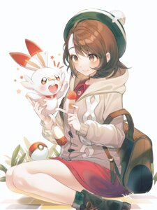 Rating: Questionable Score: 40 Tags: kinty pokemon pokemon_sword_and_shield scorbunny yuuri_(pokemon) User: Dreista