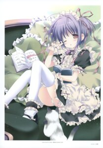 Rating: Questionable Score: 44 Tags: dress lolita_fashion morinaga_korune neko pantsu shimapan thighhighs User: crim