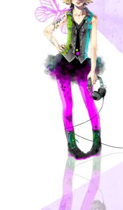 Rating: Safe Score: 18 Tags: akiakane headphones kagamine_rin pantyhose vocaloid User: charunetra