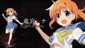 Rating: Safe Score: 8 Tags: higurashi_no_naku_koro_ni ryuuguu_rena seifuku shirt_lift skirt_lift wallpaper watanabe_akio User: saemonnokami