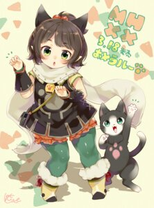 Rating: Safe Score: 14 Tags: bloomers monster_hunter monster_hunter_xx neko pantyhose pointy_ears tail urute User: fairyren