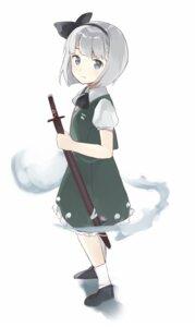 Rating: Safe Score: 14 Tags: hasegawa konpaku_youmu sword touhou User: nphuongsun93