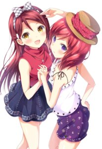 Rating: Safe Score: 55 Tags: chamirai cleavage crossover love_live! love_live!_sunshine!! nishikino_maki sakurauchi_riko User: nphuongsun93