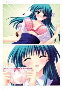 Rating: Questionable Score: 21 Tags: bra cleavage open_shirt r.g.b! shiki_midori suzuhira_hiro User: Hatsukoi