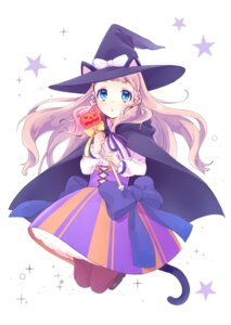 Rating: Safe Score: 37 Tags: animal_ears nekomimi tail uchida_asao weapon witch User: KazukiNanako