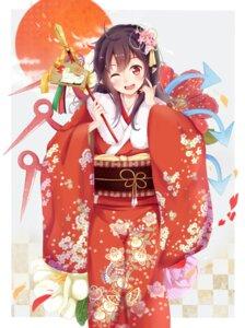 Rating: Safe Score: 39 Tags: houjuu_nue igakusei kimono touhou wings User: Mr_GT