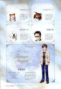 Rating: Safe Score: 4 Tags: asagiri_tatsuya bekkankou male profile_page yoake_mae_yori_ruriiro_na User: admin2
