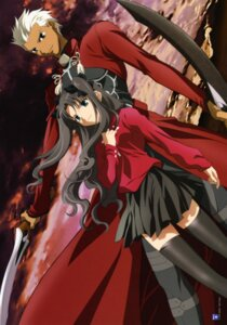 Rating: Safe Score: 10 Tags: archer fate/stay_night toosaka_rin User: Radioactive