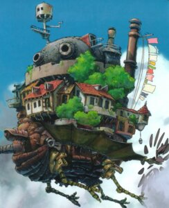 Rating: Safe Score: 12 Tags: howl_no_ugoku_shiro landscape mecha studio_ghibli User: Radioactive