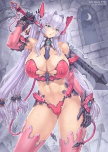 Rating: Questionable Score: 52 Tags: cameltoe cleavage erect_nipples jpeg_artifacts mogudan sword thighhighs User: demonbane1349