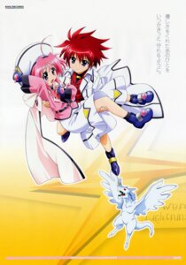 Rating: Safe Score: 5 Tags: caro_ru_lushe erio_mondial friedrich mahou_shoujo_lyrical_nanoha mahou_shoujo_lyrical_nanoha_strikers User: RozenKiss