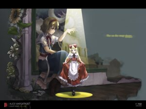Rating: Safe Score: 9 Tags: alice_margatroid satomura_kyo shanghai touhou wallpaper User: Radioactive