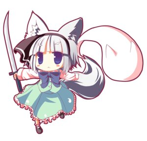Rating: Safe Score: 7 Tags: animal_ears chibi konpaku_youmu tail touhou tozakura_nagomi User: Shamensyth