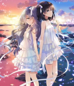 Rating: Safe Score: 83 Tags: dress koto_no_wa_amurilato naruse_chisato sukerasparo summer_dress yuri User: 糖果部部长