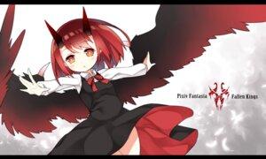 Rating: Safe Score: 34 Tags: horns pixiv_fantasia pixiv_fantasia_fallen_kings saru wings User: fairyren
