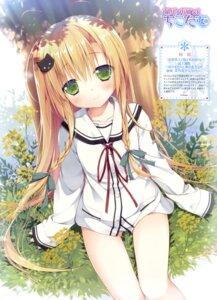 Rating: Questionable Score: 152 Tags: ayasaki_nanoka chikotam hare_nochi_kitto_nanohana_biyori pantsu parasol seifuku User: drop