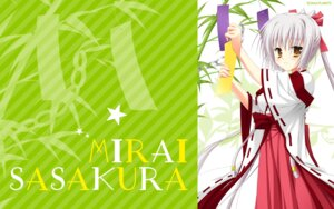 Rating: Safe Score: 20 Tags: arisue_tsukasa karumaruka_circle miko saga_planets sasakura_mirai wallpaper User: 櫻井浩美