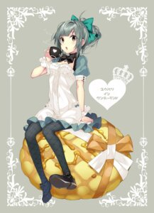 Rating: Safe Score: 75 Tags: cleavage dress hario kantai_collection pantyhose yuubari_(kancolle) User: nphuongsun93