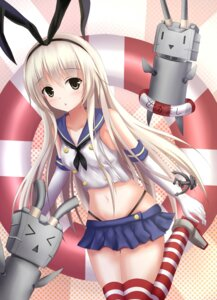 Rating: Safe Score: 27 Tags: chitori kantai_collection pantsu rensouhou-chan shimakaze_(kancolle) thighhighs User: tbchyu001