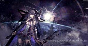 Rating: Safe Score: 32 Tags: armor cleavage kiwamu pixiv_fantasia thighhighs User: RyuZU