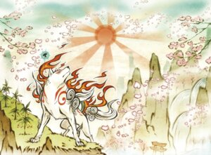 Rating: Safe Score: 16 Tags: amaterasu issun monster ookami User: Radioactive
