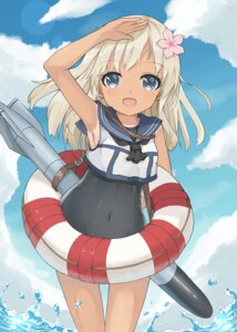 Rating: Questionable Score: 30 Tags: kantai_collection l4no-shiro ro-500 school_swimsuit seifuku swimsuits tan_lines User: L4No