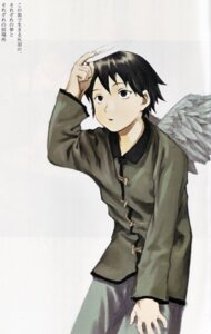 Rating: Safe Score: 2 Tags: abe_yoshitoshi haibane_renmei kana_(haibane_renmei) wings User: Davison