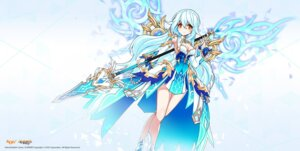 Rating: Safe Score: 32 Tags: ara cleavage elsword tagme weapon wings User: h71337