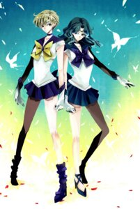 Rating: Safe Score: 13 Tags: heels kaiou_michiru nonrain sailor_moon seifuku tenou_haruka User: minakomel