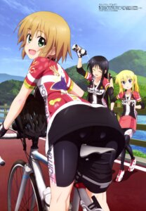 Rating: Questionable Score: 42 Tags: ass bike_shorts cameltoe kurata_ami long_riders! niigaki_aoi pantyhose saijou_hinako tanaka_katsunori wet User: drop