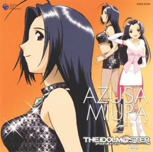 Rating: Safe Score: 4 Tags: disc_cover kubooka_toshiyuki miura_azusa pantyhose the_idolm@ster User: Radioactive