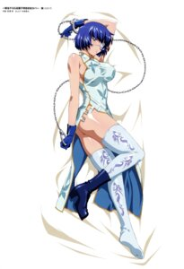 Rating: Questionable Score: 63 Tags: ass chinadress dakimakura erect_nipples eyepatch heels ikkitousen miyazawa_tsutomu no_bra nopan ryomou_shimei thighhighs weapon User: YamatoBomber