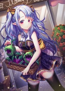 Rating: Safe Score: 36 Tags: alpha_(ypalpha79) dress pointy_ears thighhighs User: BattlequeenYume