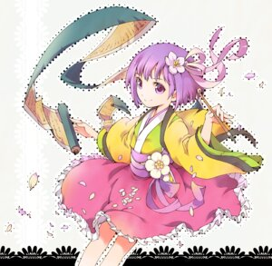 Rating: Safe Score: 13 Tags: hieda_no_akyuu ichizen japanese_clothes touhou User: Nekotsúh