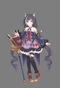 Rating: Safe Score: 17 Tags: animal_ears cygames garter heels kyaru nekomimi princess_connect princess_connect!_re:dive stockings tagme tail thighhighs transparent_png User: sorafans