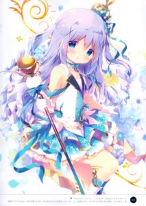 Rating: Safe Score: 57 Tags: gochuumon_wa_usagi_desu_ka? kafuu_chino shiratama shiratamaco weapon User: kiyoe
