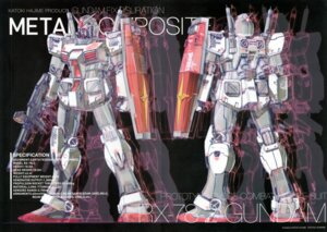 Rating: Safe Score: 4 Tags: crease gundam katoki_hajime mecha User: Rid