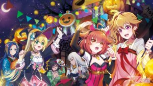 Rating: Safe Score: 17 Tags: cleavage dress halloween idol_memories japanese_clothes megane tagme wallpaper witch User: saemonnokami