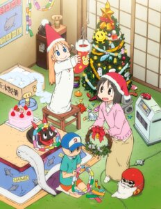 Rating: Safe Score: 25 Tags: christmas hakase neko nichijou sakamoto shinonome_nano sweater tagme User: lovecortana