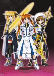 Rating: Safe Score: 10 Tags: fate_testarossa mahou_shoujo_lyrical_nanoha mahou_shoujo_lyrical_nanoha_strikers takamachi_nanoha yagami_hayate User: daemonaf2
