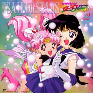 Rating: Safe Score: 9 Tags: chibiusa disc_cover heels sailor_moon tamegai_katsumi tomoe_hotaru User: Radioactive