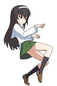 Rating: Safe Score: 5 Tags: a1 girls_und_panzer initial-g reizei_mako seifuku User: NotRadioactiveHonest