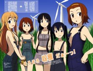 Rating: Questionable Score: 6 Tags: akiyama_mio hirasawa_yui kakkii k-on! kotobuki_tsumugi no_bra overalls tainaka_ritsu User: charunetra