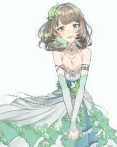 Rating: Safe Score: 41 Tags: cleavage dress heterochromia ilo takagaki_kaede the_idolm@ster the_idolm@ster_cinderella_girls User: charunetra